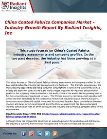 China Coated Fabrics Companies Market - Industry Growth Report