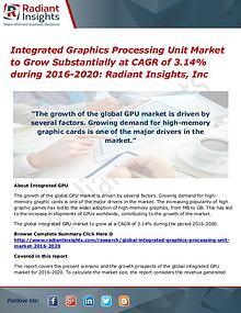 Integrated Graphics Processing Unit Market to Grow Substantially at