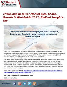 Triple Line Receiver Market Size, Share, Growth & Worldwide 2017