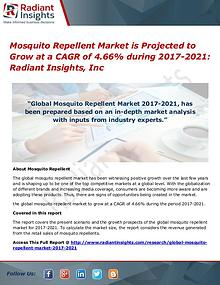 Mosquito Repellent Market is Projected to Grow at a CAGR of 4.66%