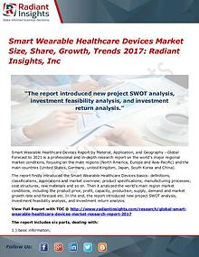 Smart Wearable Healthcare Devices Market Size, Share, Growth 2017