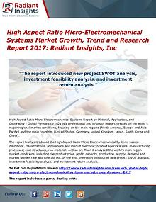 High Aspect Ratio Micro-Electromechanical Systems Market Growth 2017