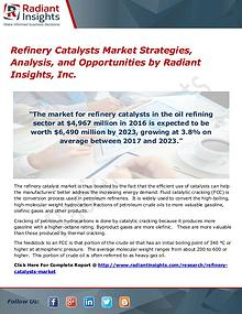 Refinery Catalysts Market Strategies, Analysis, And Opportunities