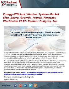 Energy-Efficient Window System Market Size, Share, Growth 2017