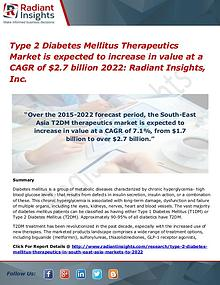 Type 2 Diabetes Mellitus Therapeutics Market 2022