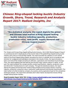 Chinese Ring-shaped Locking Buckle Industry Growth, Share, Trend 2017