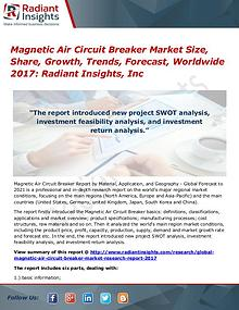 Magnetic Air Circuit Breaker Market Size, Share, Growth, Trends 2017