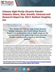 Chinese High-Purity Zirconia Powder Industry Share, Size, 2017