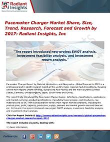 Pacemaker Charger Market Share, Size, Trend, Research, Forecast 2017