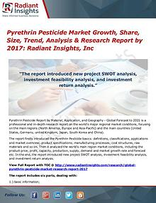 Pyrethrin Pesticide Market Growth, Share, Size, Trend, Analysis 2017