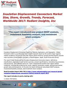 Insulation Displacement Connectors Market Size, Share, Growth 2017