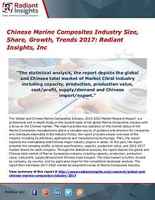 Chinese Marine Composites Industry Size, Share, Growth, Trends 2017