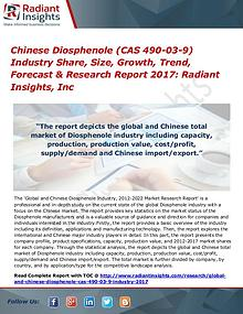 Chinese Diosphenole (CAS 490-03-9) Industry Share, Size, Growth 2017