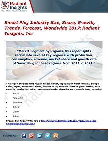 Smart Plug Industry Size, Share, Growth, Trends, Forecast 2017