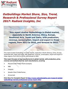Outbuildings Market Share, Size, Trend, Research 2017