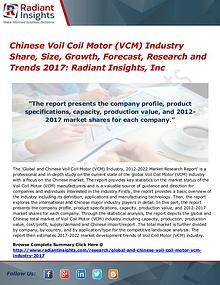Chinese Voil Coil Motor (VCM) Industry Share, Size, Growth 2017