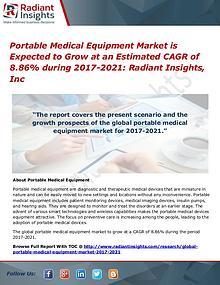 Portable Medical Equipment Market 2021