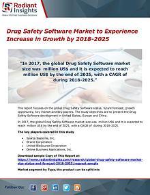 Drug Safety Software Market 2018-2025