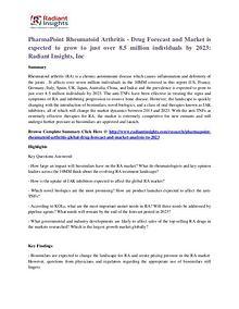 PharmaPoint Rheumatoid Arthritis - Drug Forecast and Market