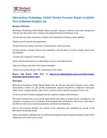 Information Technology Market Forecast Report