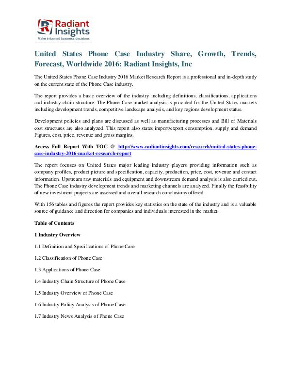United States Phone Case Industry Share, Growth, Trends, Forecast United states phone case industry