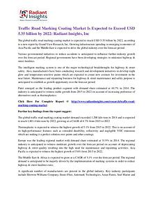 Traffic Road Marking Coating Market
