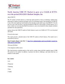 North America UHD TV Market 2019
