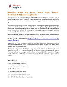 Pholcodine Market Size, Share, Trends, Forecast, Worldwide 2015