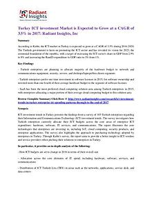 Turkey ICT Investment Market is Expected to Grow at a CAGR of 3.5%