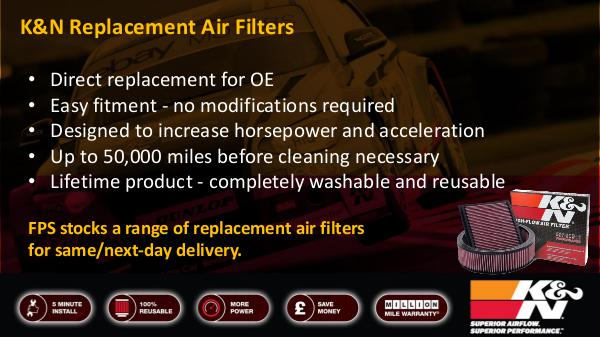 K&N Replacement Air Filters