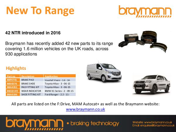 FDrive Braymann Range Extension