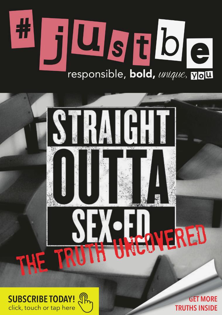 #JustBe Magazine September 2015