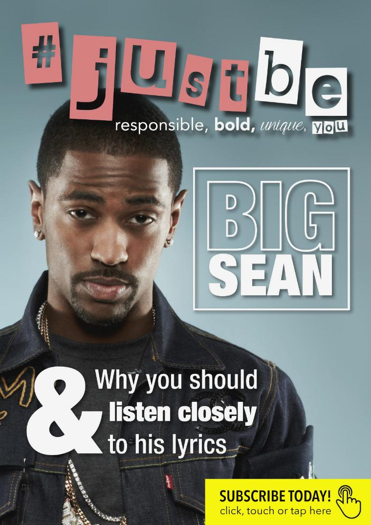 #JustBe Magazine July 2016