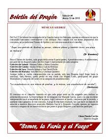 Boletín del Dragón Prueba 1