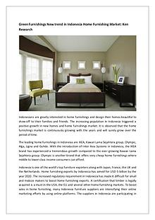 Global Home Furnishings Market Research Report
