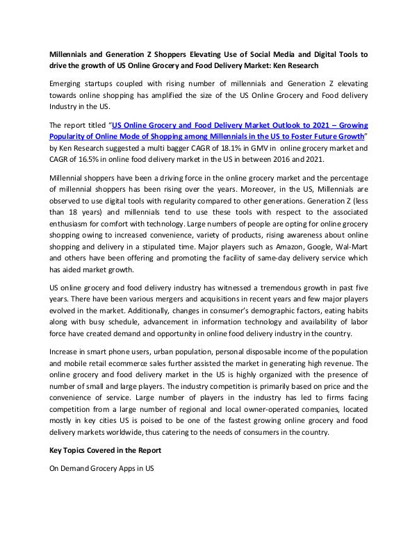Market Research Reports - Ken Research Amazon Fresh Market