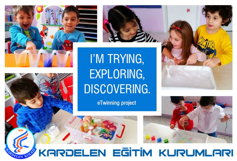 I'm trying, exploring, discovering I'm trying, exploring, discovering