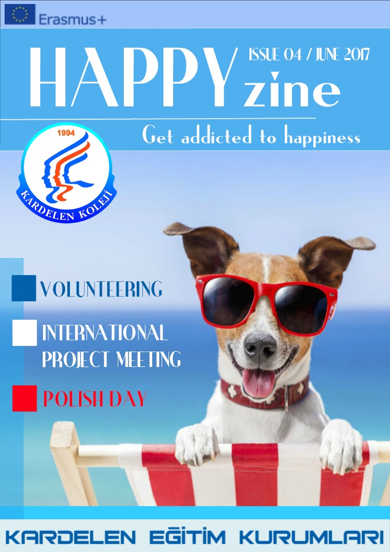 Happyzine Issue 3 Happizine no 4