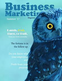 Business Marketing Magazine Summer 2017