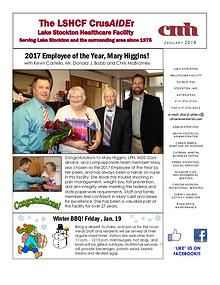 Lake Stockton Healthcare Facility eNewsletter