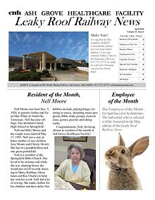 Ash Grove Healthcare Facility's Leaky Roof Railway News