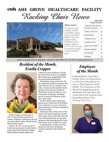 Ash Grove Healthcare Facility's Rocking Chair News