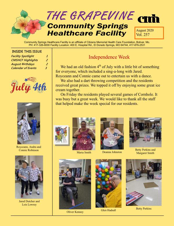 Community Springs Healthcare Facility The Grapevine