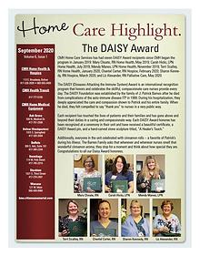 CMH Home Care Services Newsletter