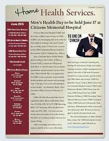Home Health Services eNewsletter