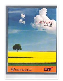 CSB Newsletter 2014-15