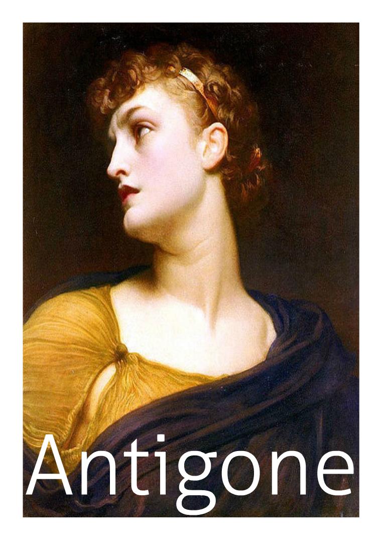 Antigone 15 Aprile 2015