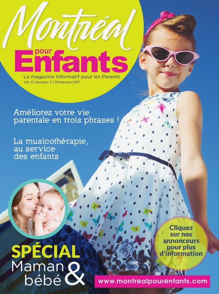 Montréal pour Enfants vol. 17 n°2 Printemps 2017