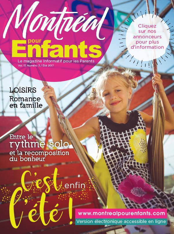 Montréal pour Enfants vol. 17 n°3 Été 2017