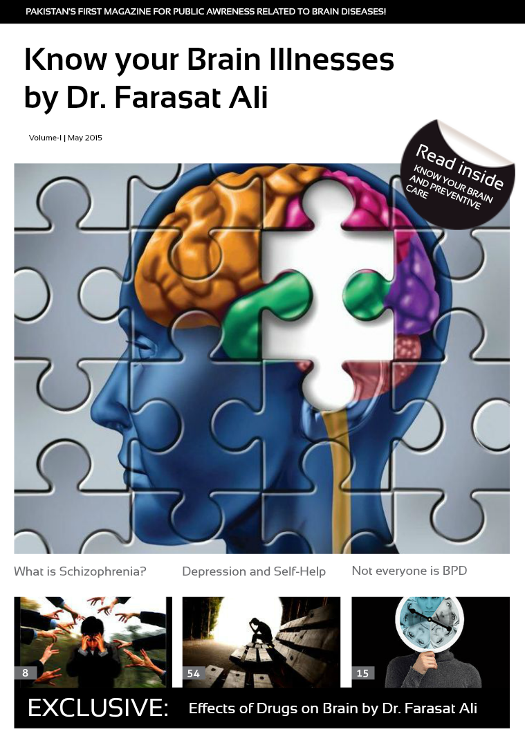 Know your Brain Illnesses by Psychiatrist Dr. Farasat Ali Comprehensive Public Awareness Guide